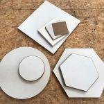 Hout materiaal acryl gieten overzicht