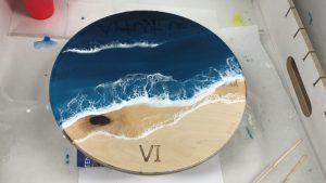 epoxy beach time acryl