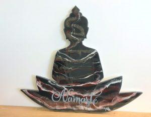 workshop epoxy gieten buddha