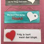 Workshop tekstborden Love