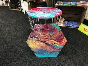 Tafel acryl gieten workshop