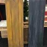 Workshop met houtnerf techniek