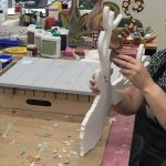 workshop schilderen rendier