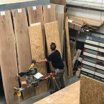 cursus houtbewerking boomstamtafels
