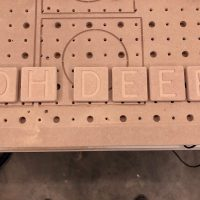 Oh Deer! Kerst deco scrabble letters